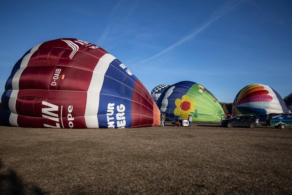 Ballon füllen